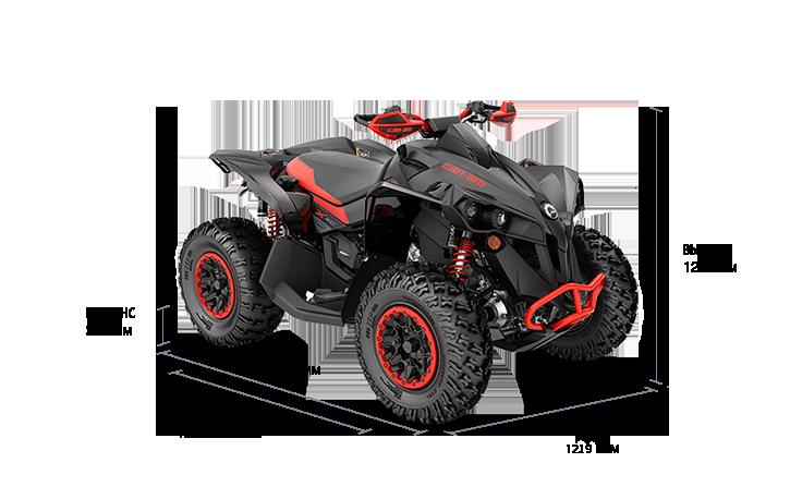 Технические характеристики Renegade 1000R X XC