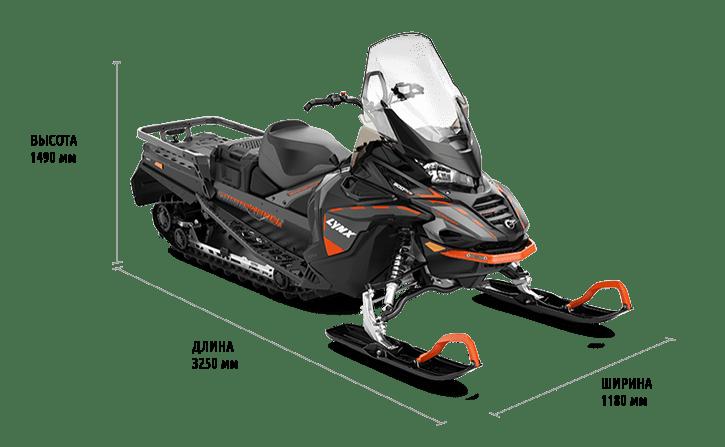 Технические характеристики Commander 900 ACE Turbo