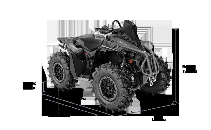 Технические характеристики Renegade 1000R X MR