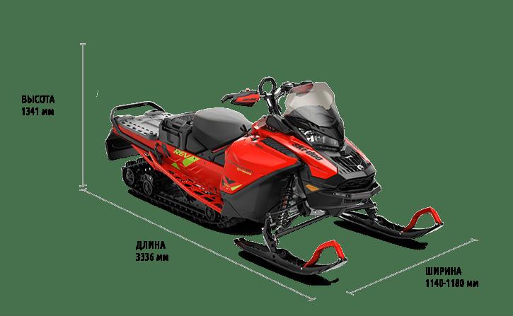 Технические характеристики Expedition Xtreme 850 E-TEC