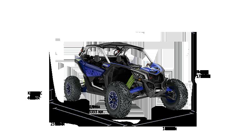 Технические характеристики Maverick X RS TURBO RR