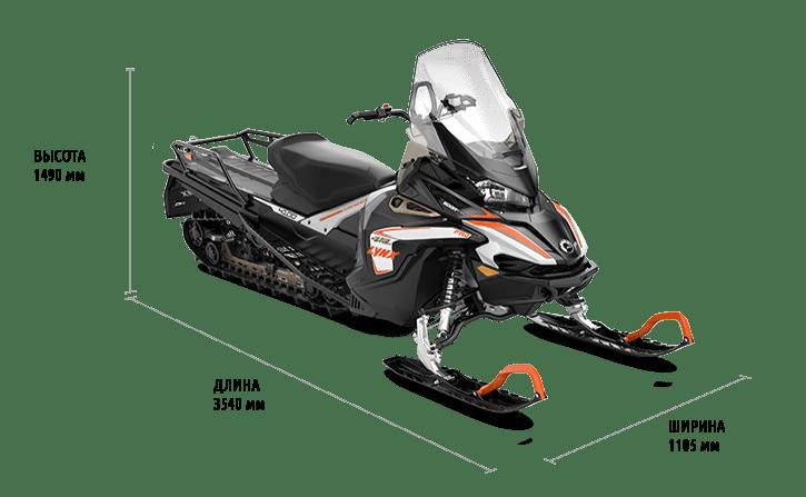 Технические характеристики 49 Ranger 600R E-TEC Touring Kit