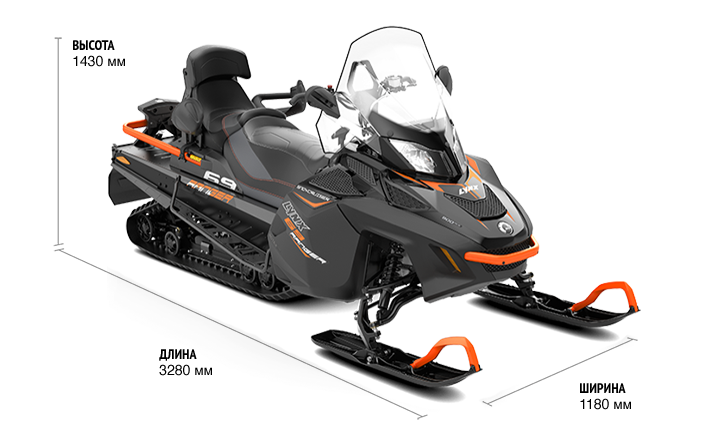 Технические характеристики 69 Ranger Snowcruiser 900 ACE