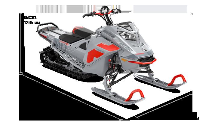 Технические характеристики FREERIDE 154 850 E-TEC Turbo SHOT 2021
